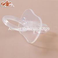 Full rikang silica gel nipple reassure the newborn baby slumbered type nipple baby real sense of comfort nipple
