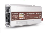 New arrival SUOER  STA-1000A  power inverter  12V  to 220V  With article LED display.