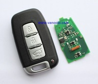 Hyundai i30 , ix35 , Sonata car 3 button smart remote key 434mhz with electronic ID46 chip