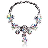 NEW 2014 Shourouk necklace & pendant chunky choker statement necklace fashion pendants Luxury bib Necklace High Quality