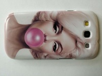 Marilyn Monroe Bubble Gum for Samsung Galaxy S3  case cover  free shipping