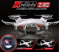 New Version Syma X5C 2.4G 6 Axis GYRO HD Camera RC Quadcopter RTF RC Helicopter with 2.0MP Camera