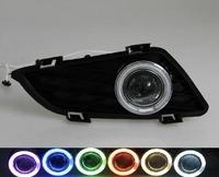FOR 2003-2005 Mazda 6 ,Car Fog Lamp Assembly Angel Eyes Fog Light Lamps (Pairs)