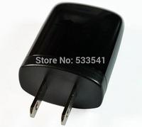 Universal US Plug AC 110V-245V USB Wall Power Adapter Plug Black