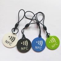 Epoxy NFC Key tags NTAG203 universal NFC tags 13.56MHZ free shipping