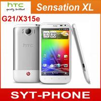 Original HTC Sensation XL X350e G21 Phone 4.7 Inch Touch Screen Android 2.3 3G Internal Unlocked Cell Phone 8MP GPS WIFI