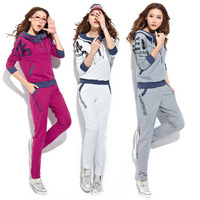 Hot Selling Sweatershirt Suit Spring Summer New Women Hoodies Sportswear Set Sport Clothing For Women