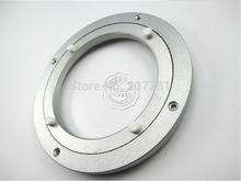 FREE SHIPPING  5'' 120mm Lazy Susan Aluminum Bearing Round Turntable Bearings Swivel Plate Home Hardware~(China (Mainland))