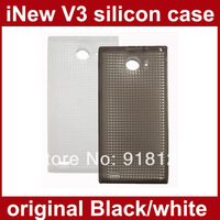 Original iNew V3 Case Soft TPU Clear Silicone Back Cover for iNew V3 Smart phone Shell black white pink stock