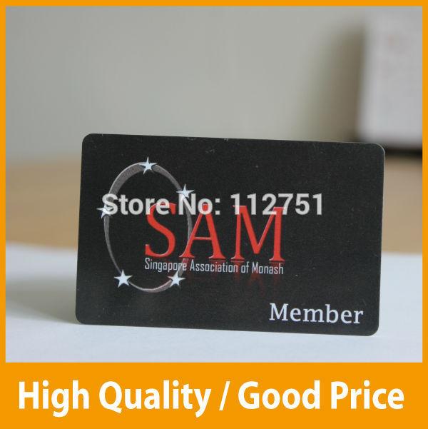 custom VIP PVC card printing membership loyalty cards member magnetic strip plastic card(China (Mainland))