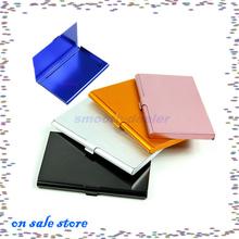 On Sale! 1PC Ligas de alumínio Nome da empresa Cartão ID titular de crédito Metal Case Box Cover(China (Mainland))