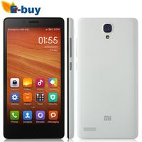 """Original Xiaomi Redmi Note WCDMA Xiaomi Red Rice Note Mobile Phone Hongmi Note MTK6592 Octa Core 5.5"""" 1280x720 2GB RAM 8GB 13MP"""
