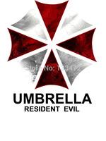 Free Shipping Summer Tee Shirt Game t shirt Resident Evil Umbrella Design shirt Cotton Clothing