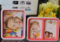 Double faced 7 inch child photo frame desktop brief baby photo frame gift free shipping