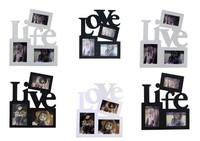 Fashion combination photo frame swing sets wedding gift wedding dress photo frame Home picture frame