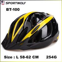2014 New Brand Sportwolf Bicycle Helmet Capacete Protection L 58-62 Cm Multi Colors BT-100 Mens Bicycle Helmet Factory Price