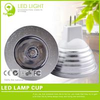 Energy-saving 3w LED MR16 spotlight 220V RGB (Red/Green/Blue changeable) lampadas led spot for cabinet lighting FREE SHIPPING