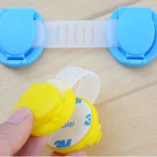 10 pcs/lot Cupboard Door Drawers Fridge Safety Lock Security Locker For Baby Child Kids(China (Mainland))