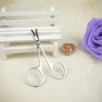 free shipping Round head cut nose hair cut classic beauty scissors eyebrow cut makeup tools