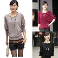 2014 Autumn Women's Elegant cardigan Desigual Loose Casual Cardigan Batwing Lace Hollow Long Sleeve Sweater Plus Size nz113