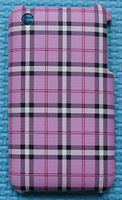 Newest Big Discount Various Plaid patterns  back Hard cover cell phone Case for iphones 3 3G 3GS skin