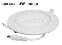 AC 85-265v ultra thin round led ceiling panel light,4w led panel lights smd2835 warm white/white flat panel downlight