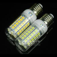 Ultra bright  E27 5050smd LED lamp 220V 15W 69 led 5050 SMD LED Corn Bulb Light  Warm white/white Water proof   free shipping