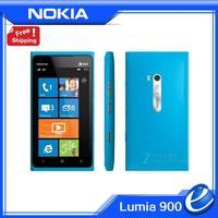 "900 Original Nokia Lumia 900 Unlocked Windows Mobile Phone 4.3"" Capacitive touch Screen 8.0MP WIFI GPS Bluetooth 3G Cell Phone"