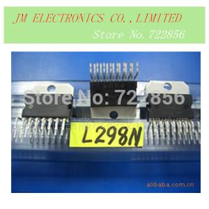 Free shipping 10pcs L298N L298 ZIP 298 298N IC BRIDGE DRIVER PAR 15MULTIWATT Y(China (Mainland))