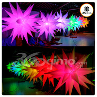 Inflatable 32 multicolour lights led christmas lights led star lights wedding lights decoration inflatable