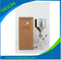 100% New 5-50m Manual cream filling machine for lotion,cosmetic,shapoo,bath gel,liquid  detergent,emulsion product