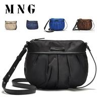 New 2014! Ruched Nylon designers for women mng mango brand small bag mini bag crossbody bag handbag women's messenger bag