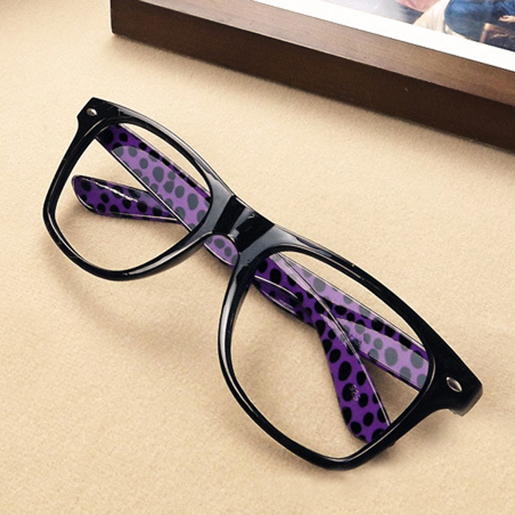 New Fashion Mens And Womens Unisex Meters Rivet Small Big Frame Flower Glasses Eyeglass Frames 10 Colors Drop Shipping GS-00339(China (Mainland))