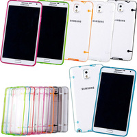 New Gel Clear Case Cover For Samsung Galaxy Note 3 N9000 Ultra Thin Soft Hard Phone Cases