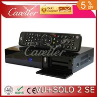 Vu Solo2 SE Twin Tuner Decoder Vu Solo 2 SE Linux Reciever 1300 MHz CPU 2 dvb-s2 Tuner STB digital satellite tv recever