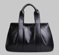Hot sale women handbags 2014 fashion women leather handbags women clutch ruffle solid color messenger bag cowhide