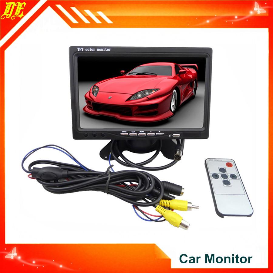 Автомобильный монитор 7 TFT LCD 2CH /DVD/VCR/GPS SG монитор 7 lcd