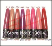2014 New - 100 pcs nake lipgloss 8 colors to choose lip gloss makeup! happy-shopping