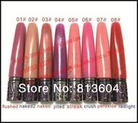 2014 New - 60 pcs nake lipgloss 8 colors to choose lip gloss makeup! happy-shopping
