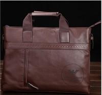New Arrived genuine leather men bag fashion men messenger bag bussiness shoulder bag morer Free Shiping