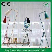 Factory Price Modern Fashion Grasshopper Vintage Art Deco Iron Luxury Floor Lighting