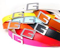 Men's Fashion Faux Leather Premium Shape Metal Strap Ceinture Buckle Belt 8 colors cintos cinturon