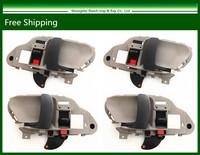 4pcs New Inner Handles For 95-98 Chevy GMC C/K 1500 2500 Tahoe Yukon Suburban