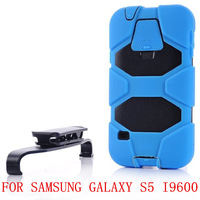 Free shipping drop resistant anti knock dirt shockproof outdoor sport phone case for samsung galaxy s5 i9600