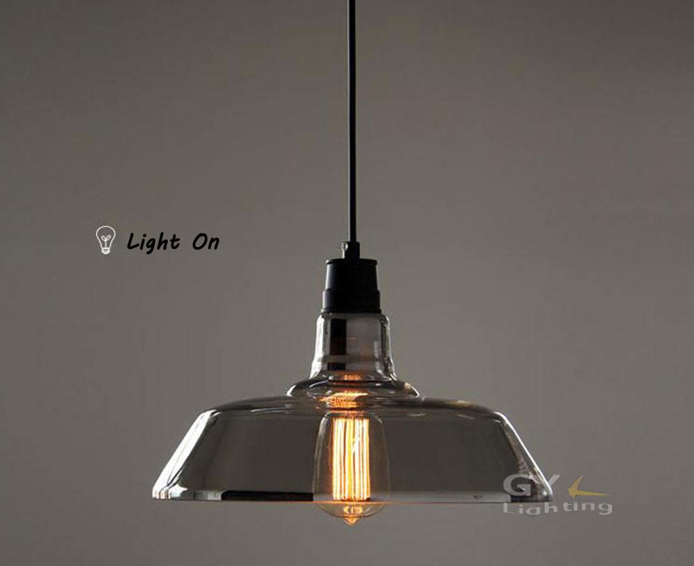 Vintage Industrial Kitchen Pendant Light Glass 1000 x 816