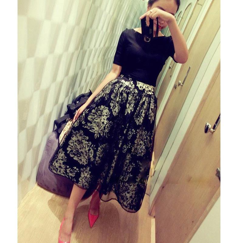 Dresses Seconds Kill Work Knee-length Vestidos Desigual 2014 Women's Dress Short-sleeve Promotion Basic Twinset One-piece Female(China (Mainland))