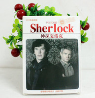 NEW British TV Characters Sherlock Postcards 40pcs/lot Greeting cards Message cards Collection cards