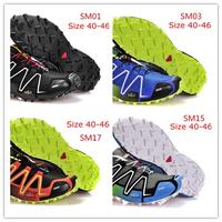 Drop Shipping 2014 New Speedcross 3 for Men Women Athletic Running Shoes Zapatillas Hombre men Walking Ourdoor Sport Shoes