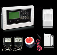 Wireless And Wired GSM Home Alarm Security System With Touch Panel LCD