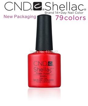 79 цвет CND shellace красоты по уходу за кожей ( 3 шт./лот ) высокое качество CND ногтей гель для ногтей, высокая блеск для губ, здоровье, экологичные